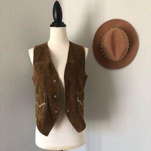 Vintage Levi's Corduroy Snap Vest